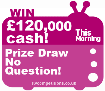 ITV thismorning competition prize draw Xmas jackpot