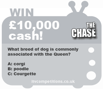 The Chase competition - win £10,000 cash