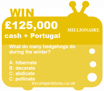 Who Wants To Be A Millionare competition - 08 Jan 2013