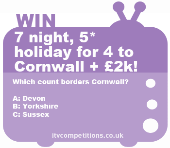 ITV Cornwall competition - win a holiday!