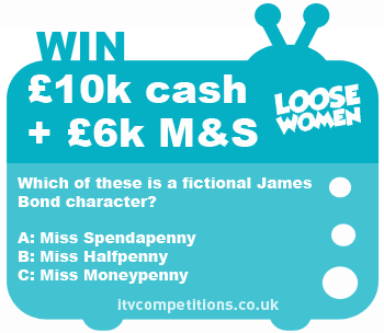 Loose Women competition - win a £18000 spending spree!
