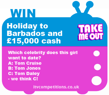 Take Me Out competition - ITV