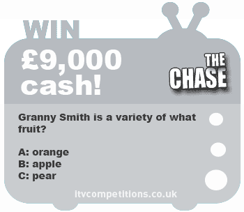 The Chase competition - win £9,000 cash prize (w/c 18/02/13)