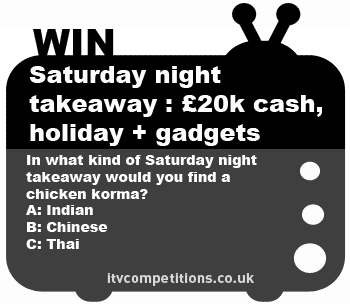 Ant & Dec's Saturday Night Takeaway Competition