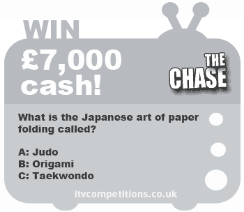 The Chase competition - win a £7,000 cash prize (w/c 10th June 2013)