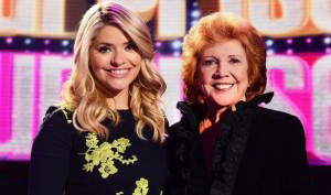 Cilla Black and Holly Willoughby