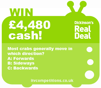 Dickinsons Real Deal competition - win £4480