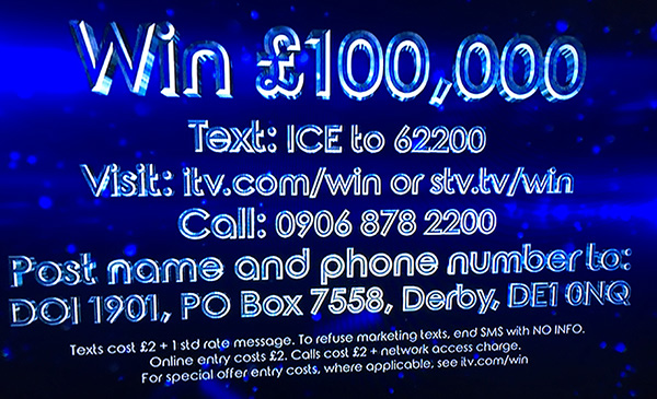 Dancing on Ice competition 2019 - win £100,000