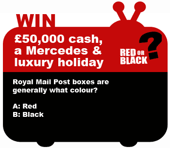 Red or Black competition