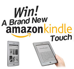 win a amazon kindle touch