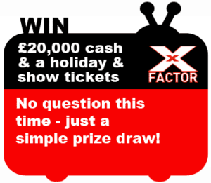 x factor competition