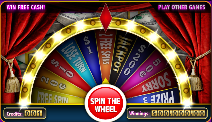 Free Money Spin Wheel