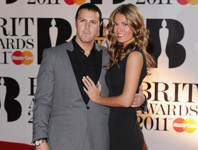 Paddy McGuiness and Christine Martin