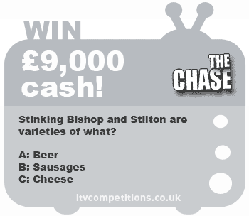 The Chase competition – win £9,000