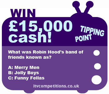 Tipping Point competition - win cash : £15,000 massive cash prize