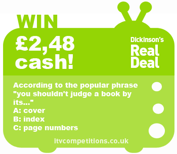 Dickinsons-Real-Deal-competition-13-05-2013