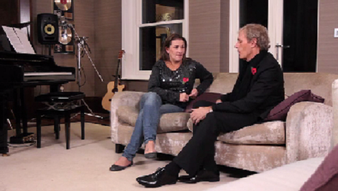 Michael Bolton with Sam Bailey