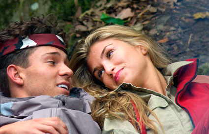 Joey Essex and Amy