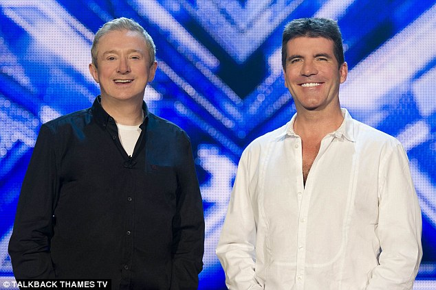 Simon Cowell and Louis Walsh