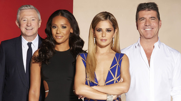 X Factor 2014 Judges