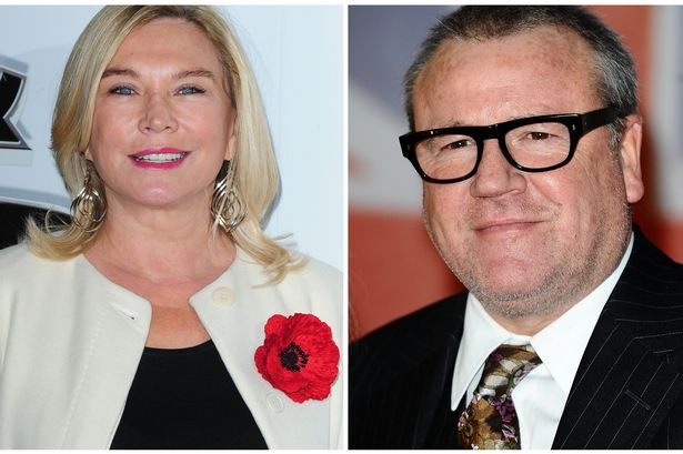Ray Winstone and Amanda Redman