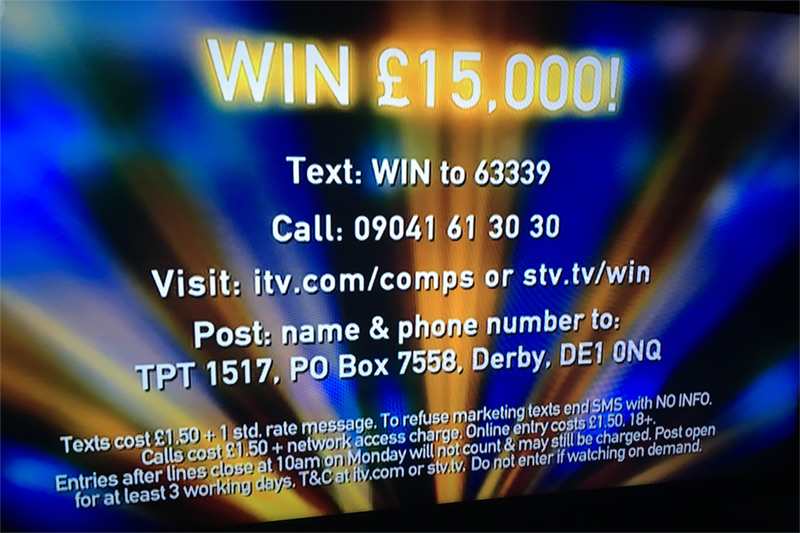 Tipping Point competition example