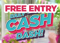 ITV Free £1,000 competition Daily Cash Dash